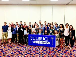 Fulbright group