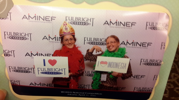 Feelin' all the Fulbright and AMINEF love. Like a boss.