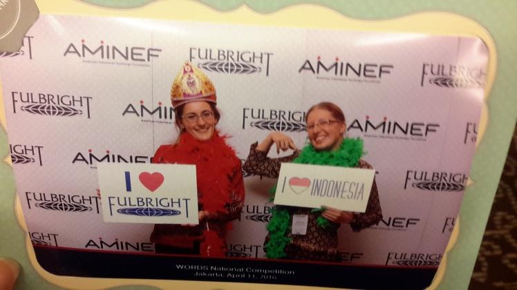 Feelin' all the Fulbright and AMINEF love. Like a boss.