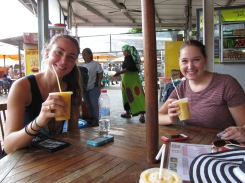 Jus mangga was a much-needed refresher after an hour of walking around the shade-less perimeter of Monas.