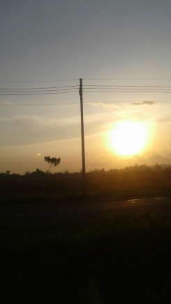 Sunset over Madura.