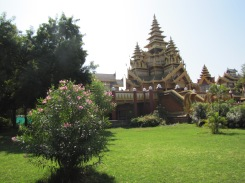 The Golden Palace of Bagan. Who lived here and when? Not clear from the signage. Still a cool spot though.